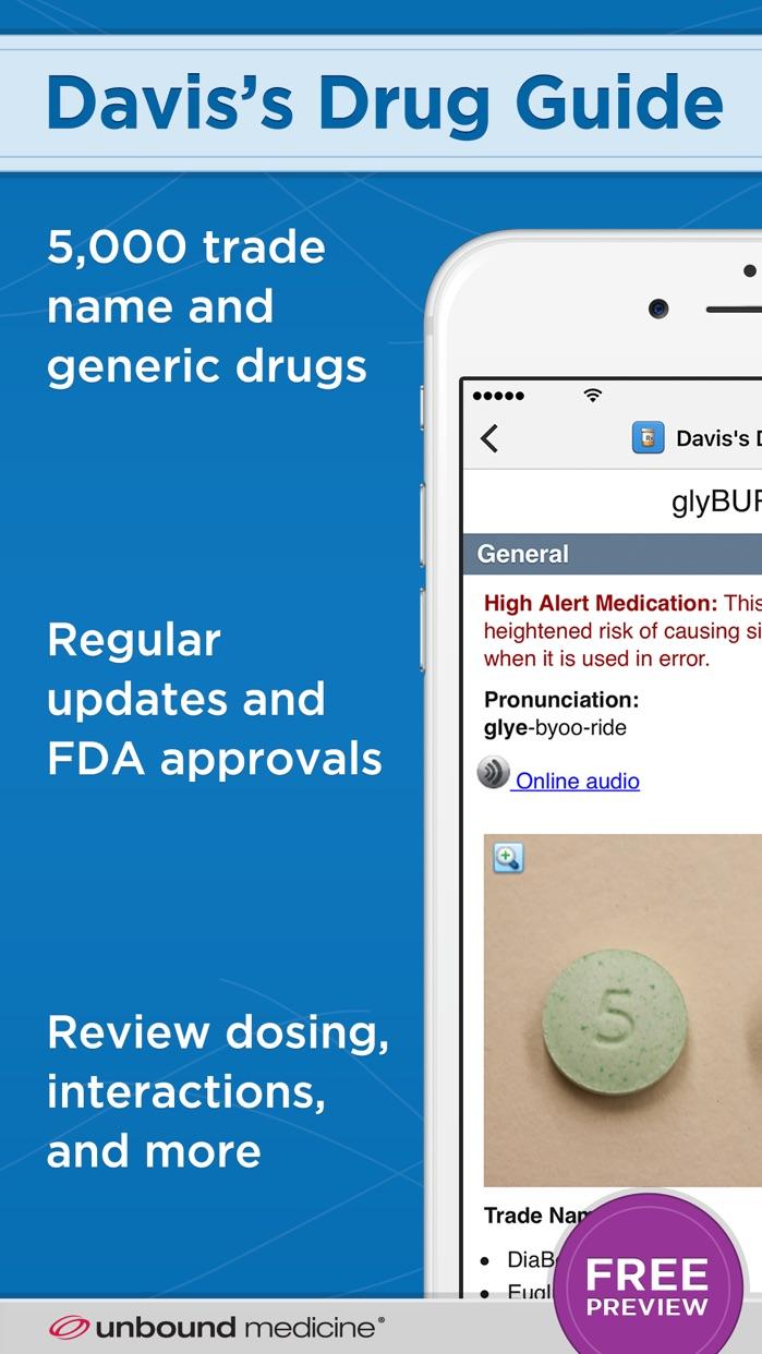 Davis's Drug Guide Screenshot