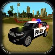 警察与小偷汽车追逐