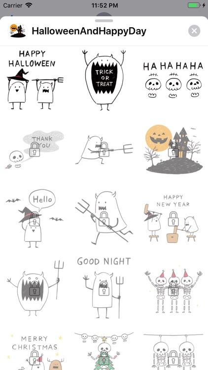 Halloween And Happy Day screenshot-3