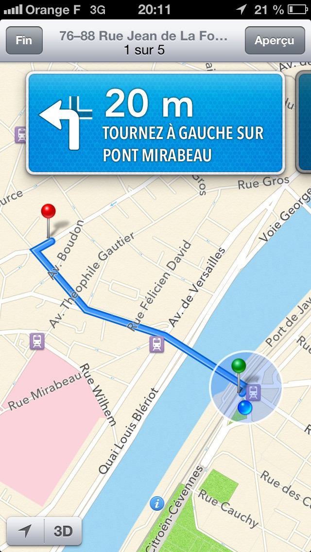 Screenshot for Localiser ma voiture in Lebanon App Store