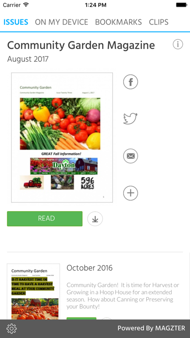 Community Garden Magazine screenshot 1