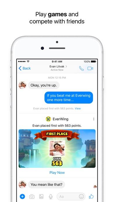 Facebook Messenger Screenshot 5