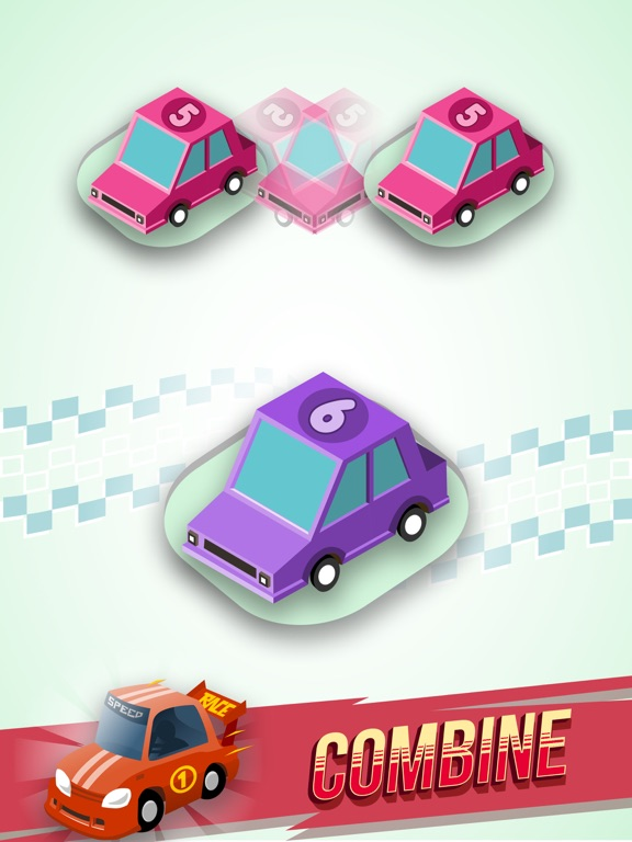 Merge Cars City Evolution для iPad