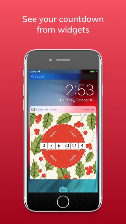 Christmas & New Year Countdown screenshot-5