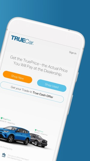 Truecar Used Cars >> Truecar The Car Buying App On The App Store