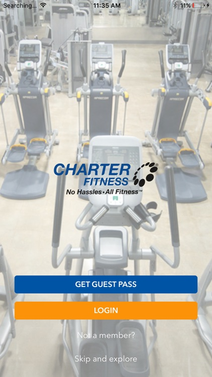 Charter Fitness. screenshot-0