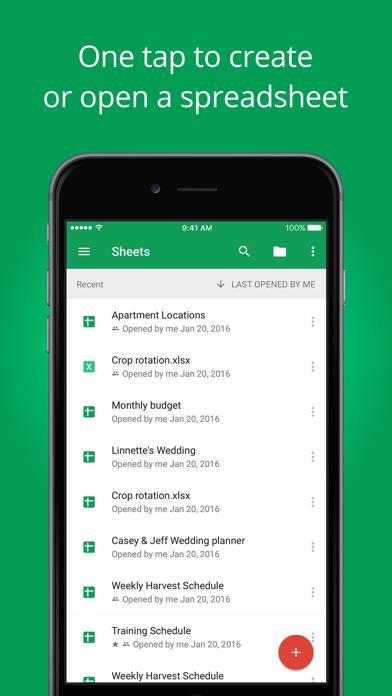 download Hojas de cálculo de Google apps 3