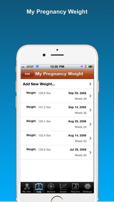 Pregnancy Weight Trackerのおすすめ画像1