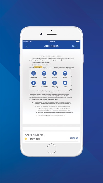 DocuSign - Upload & Sign Docs screenshot-3