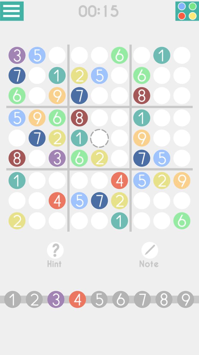 Sudoku ◆ Screenshot