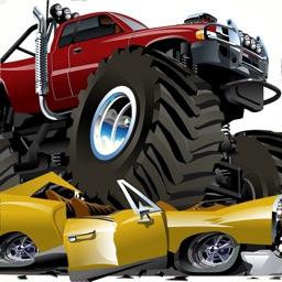 Monster Truck Crushing Power