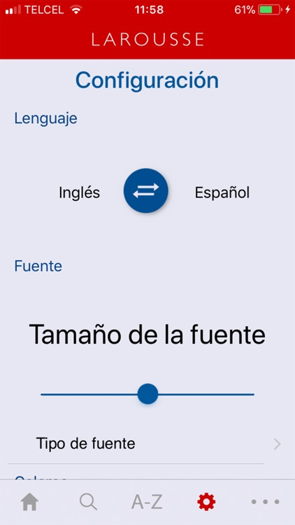 Spanish-English Larousse screenshot-3