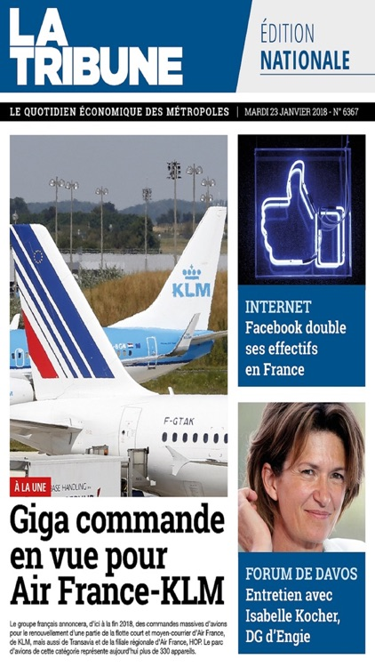 La Tribune - Quotidien & Hebdo screenshot-1