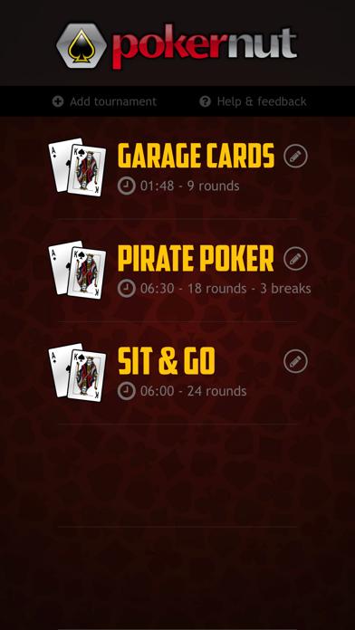 Pokernut Tournament Timerのおすすめ画像1