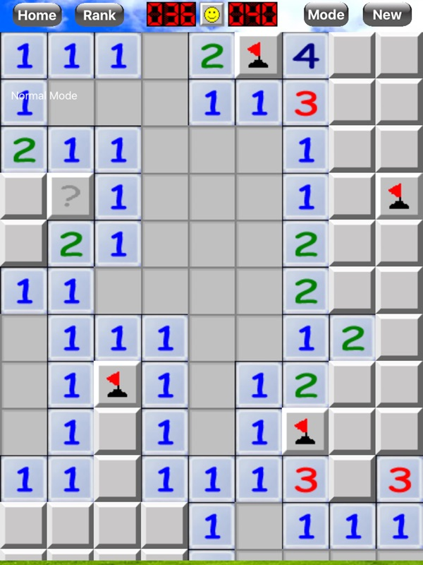 Classic MineSweeper Game  - Online Game Hack and Cheat