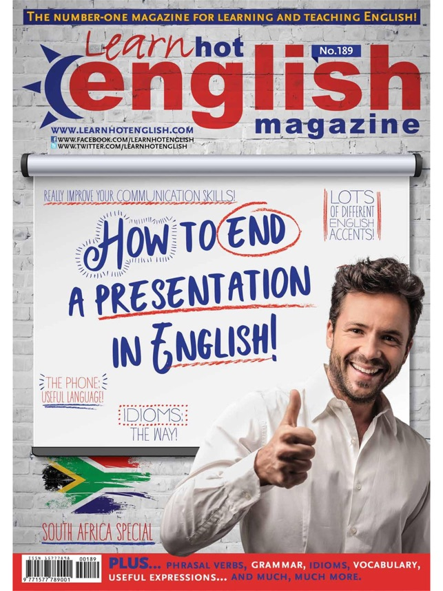 Learn Hot English Magazine on the App Store