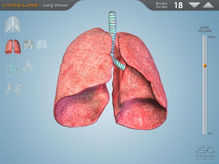 Living Lung™ - Lung Viewer screenshot-3