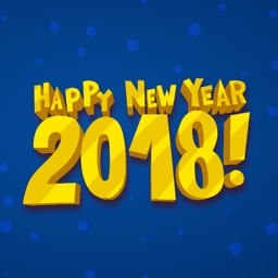 Welcome Happy New Year Sticker