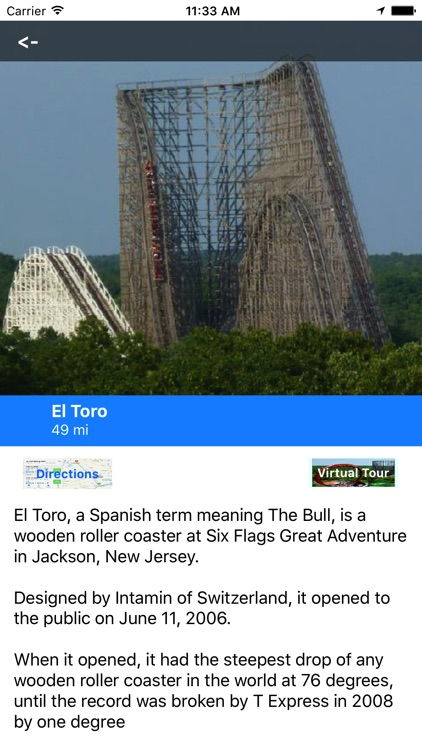 VR Guide: Six Flags, Great Adv screenshot-3