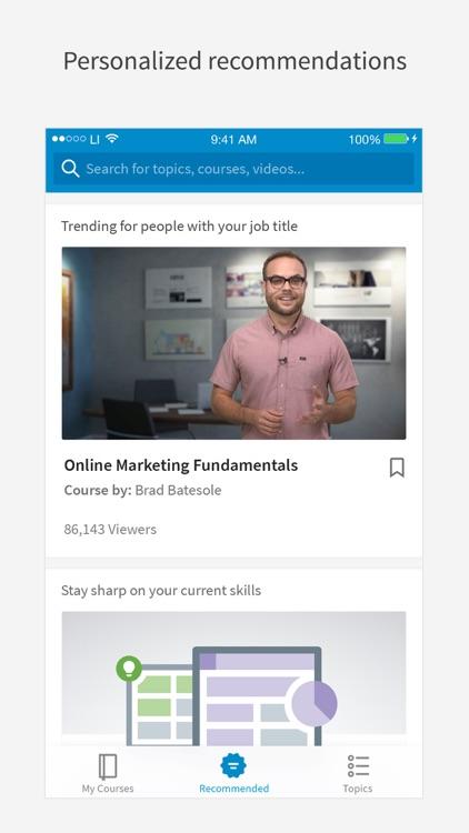 LinkedIn Learning screenshot-0