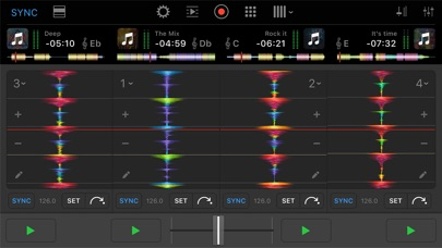 djay Pro for iPhone screenshot1