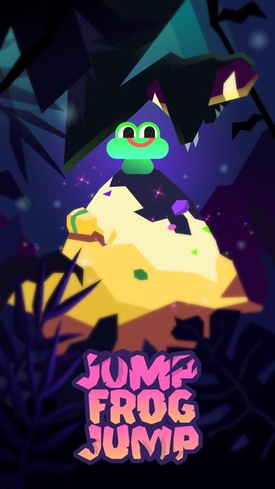 Frog Jump - endless platformer screenshot 1