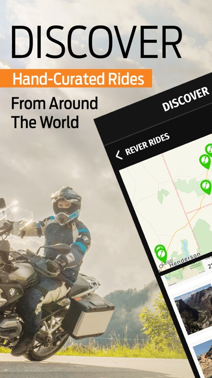 REVER: Motorcycle Routes & GPS