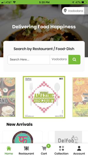 Place order on the foodpanda app