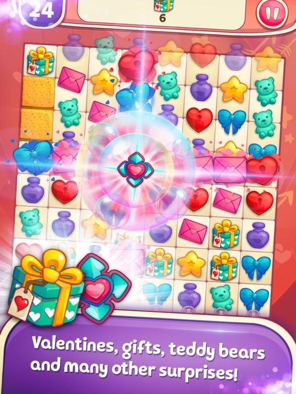 Sweet Hearts Match 3 screenshot 7