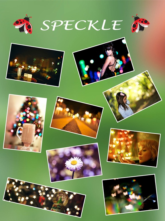 Screenshot #4 pour Speckle - Lens bokeh