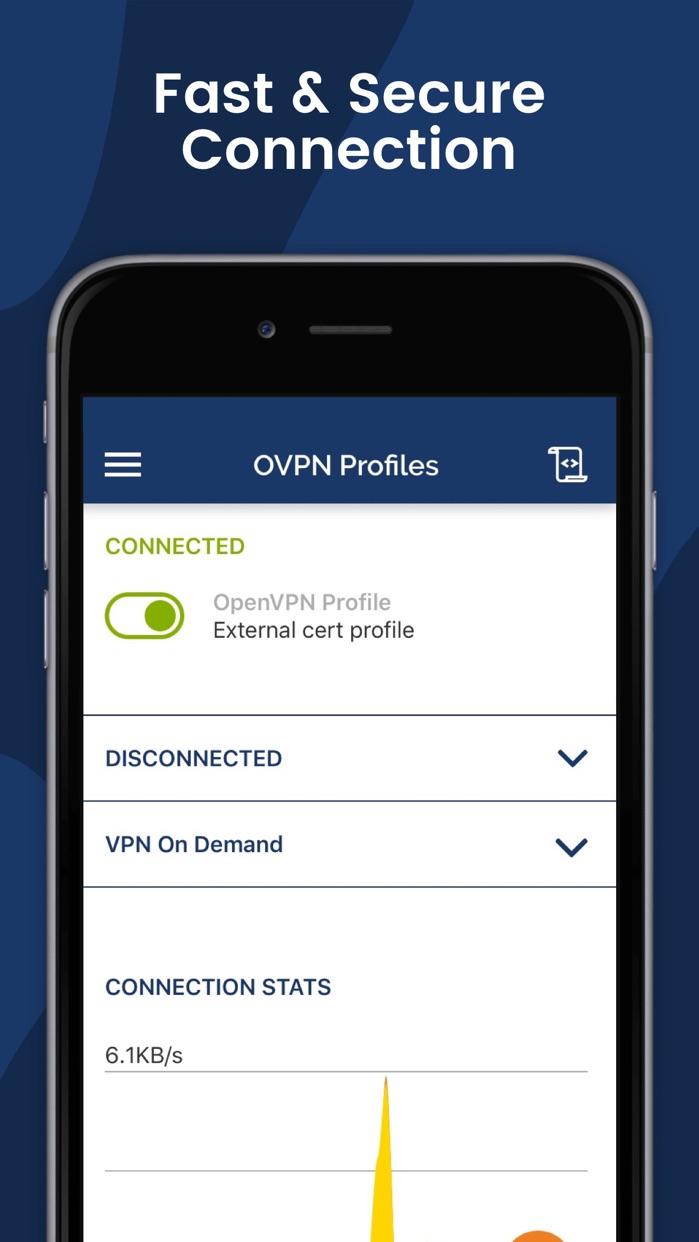 OpenVPN Connect Screenshot