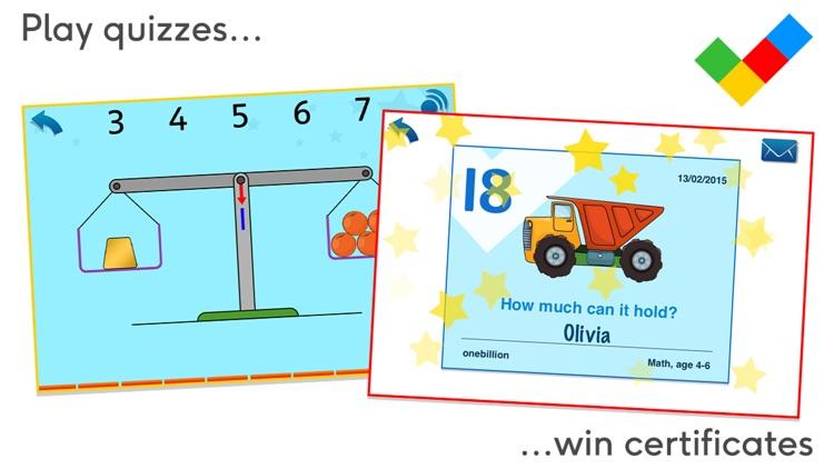 Math, age 4-6 screenshot-4
