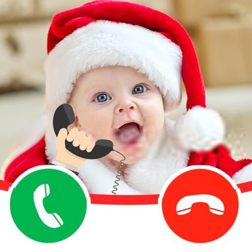 The Baby Santa Claus Calls Me iOS App