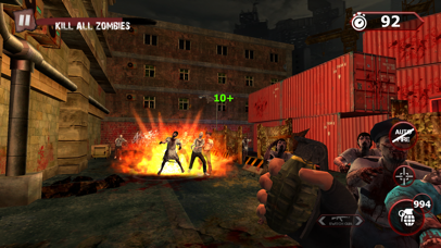 Zombie Ultimate Shooting War screenshot one