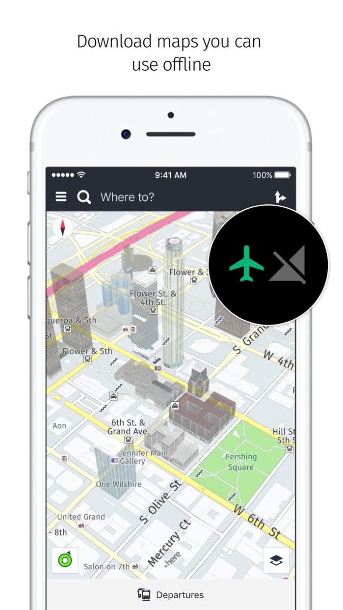HERE WeGo - City navigation Screenshot