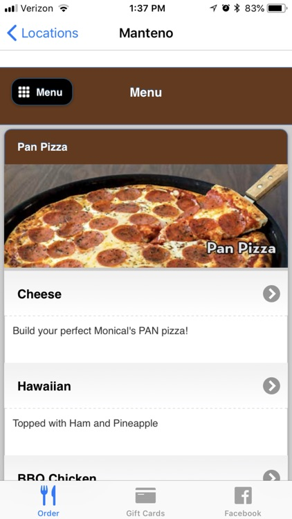 Monical's Pizza screenshot-5