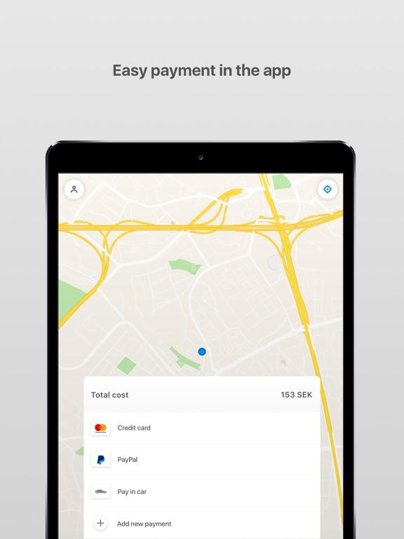 iPad Image of Uppsala Taxi 100 000
