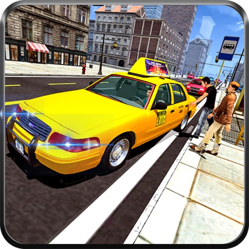 Real City Taxi Driver Sim