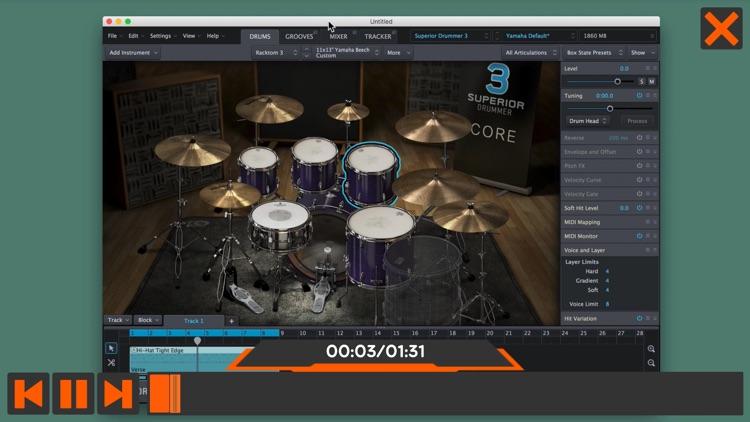 Drums For Superior Drummer 3