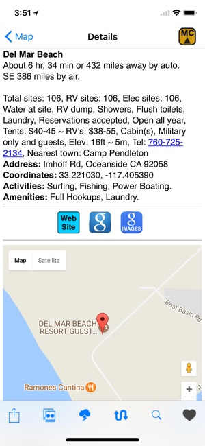 ultimate us mil campgrounds on the app store