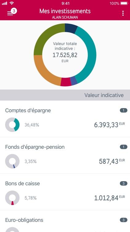 Belfius Mobile screenshot-3