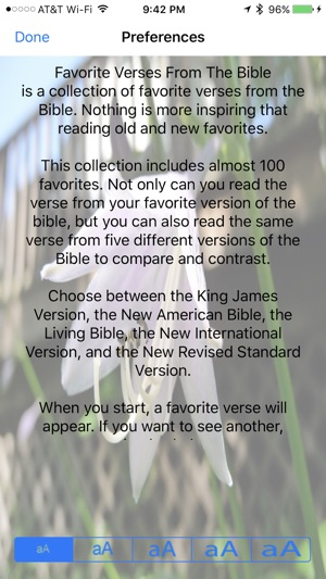 favorite verses from the bible をapp storeで