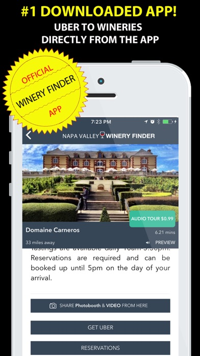 Napa Valley Winery Finder REAL
