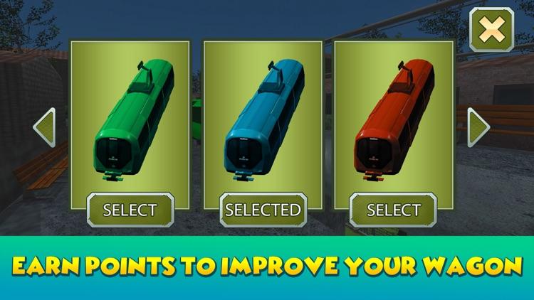 Dino Park Sky Tram Simulator screenshot-3