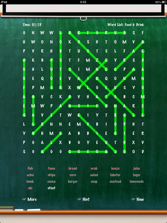 WordSearch (Unlimited) screenshot-3