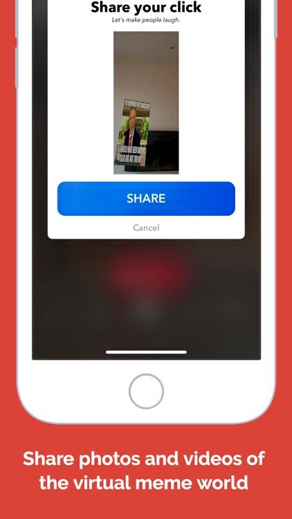 memeois AR: augmented memes screenshot-4