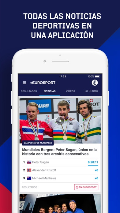 Screenshot for Eurosport in Chile App Store