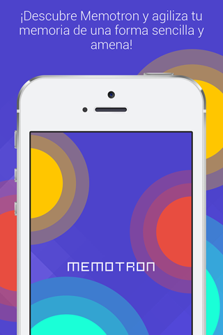 Memotron - náhled
