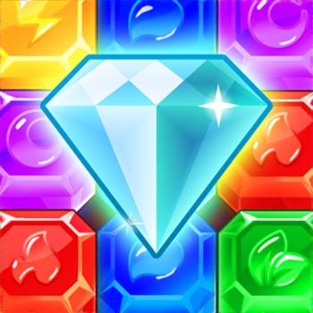 Diamond Dash 3-op-een-rij-spel