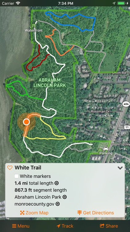 #TrailsRoc Maps